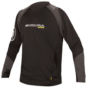 Endura MT500 Burner Bike Jersey Longsleeve Men black